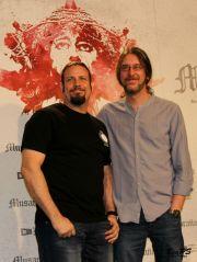 Los directores, Esteban Roel y Juan Fernando Andrés (@BeaPedraza)