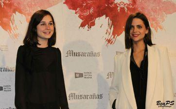 Nadia de Santiago y Macarena Gómez (@BeaPedraza)